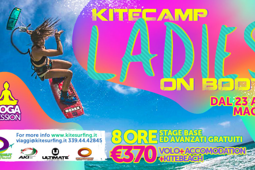 KItecamp LADIES ON BOOTS