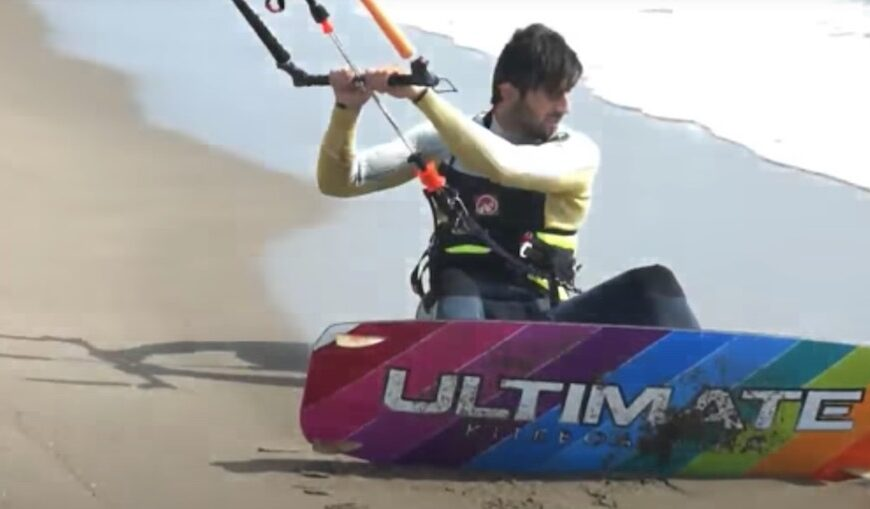 Ultimate Kiteboarding Session Action