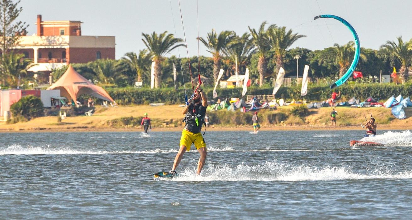 Kitesurf allo Stagnone